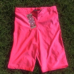 High Shine Cycling Shorts
